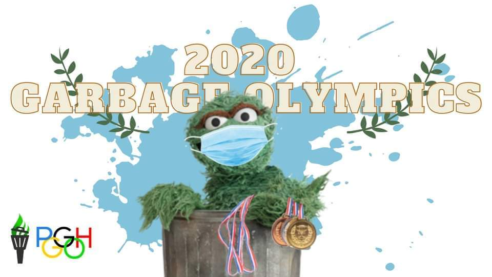 Get Ready for the 2020 Garbage Olympics!