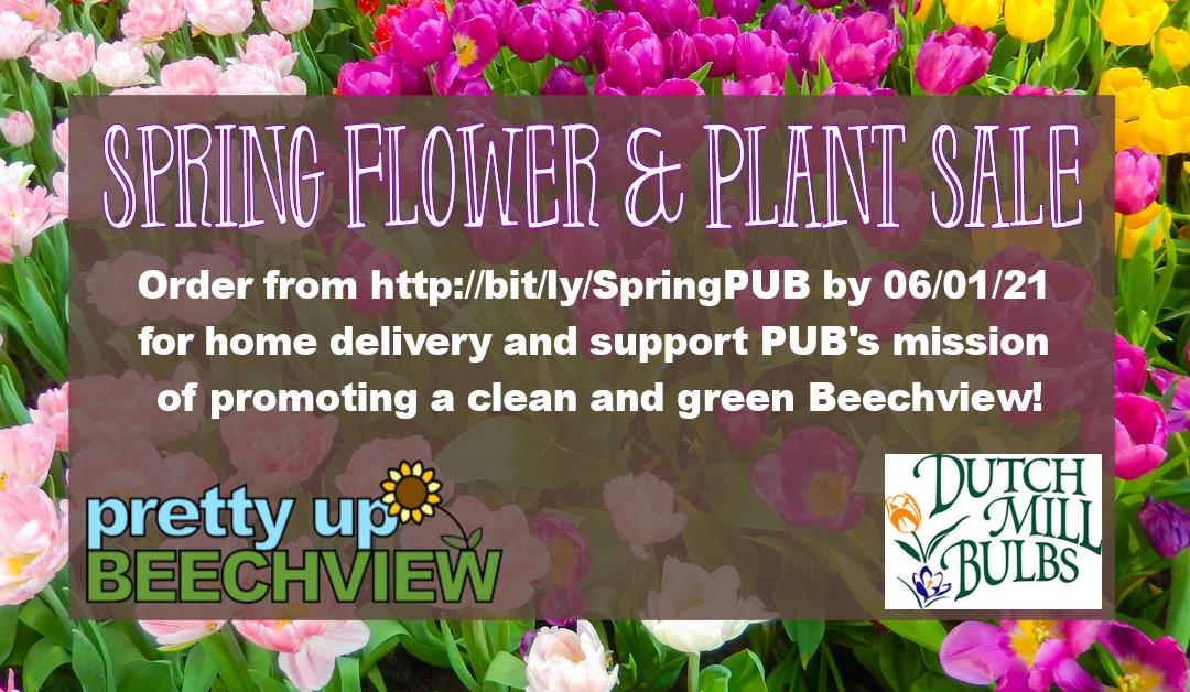 2021 Spring Flower & Plant Sale